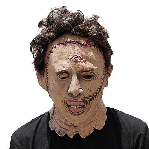 Halloween Mask Adult Scary Fright Chainsaw Killer