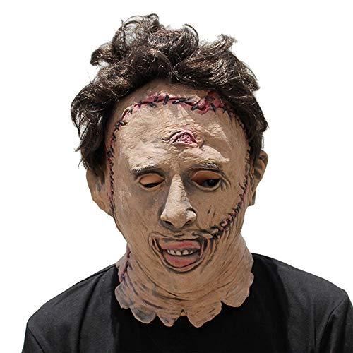 Halloween Mask Adult Scary Fright Chainsaw Killer Horror Vampire (Chainsaw Killer Kostüm)