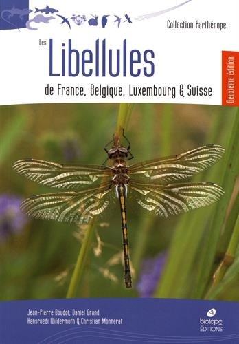 Les libellules de France, Belgique, Luxembourg et Suisse