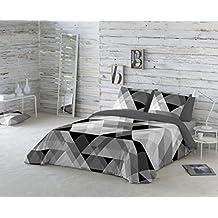 COTTON ART- Funda Nórdica PITAGORAS Cama de 150 / 160 (240x260cm)+ 2 FUNDAS DE ALMOHADA (45X80cm). ALGODÓN 100%. Disponible para cama de 90, 105, 135, 150 y 180.