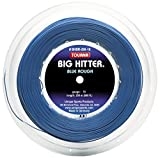 Tourna Big Hitter Rough Massimo Spin Blu in Poliestere Corda da Tennis, BHBR-200-16, Blue, 16g Reel