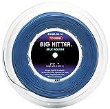 Tourna Big Hitter Rough Massimo Spin Blu in Poliestere Corda da Tennis, BHBR-200-16, Blue, 16g Reel