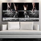 Abstrakte sportliche Mädchen Kunst Gymnastik Leinwand Malerei Wohnkultur Wand Kunstdruck Bild Poster Ölgemälde (kein Rahmen) A2 35x70CM