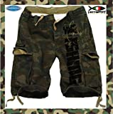 Hotspot Design Short Carpfishing camouflage, Gr. XL, Angler-Hose