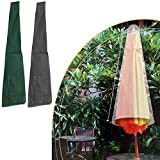 175cm Sonnenschirm Gartenschirm Sonnenschirmhülle Schutzhülle Abdeckplane Abdeckung Hülle Plane