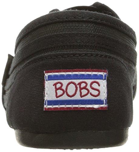 Bobs by Skechers Urban Trails Tessile Mocassini Black/Black Adorbs