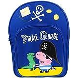 """Peppa Pig """"Pirate"""" George & Mr Dinosaur Backpack / School Bag / Rucksack"""
