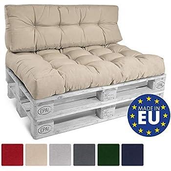 Beautissu cuscino spalliera per divano in pallet eco for Cuscini 80x120
