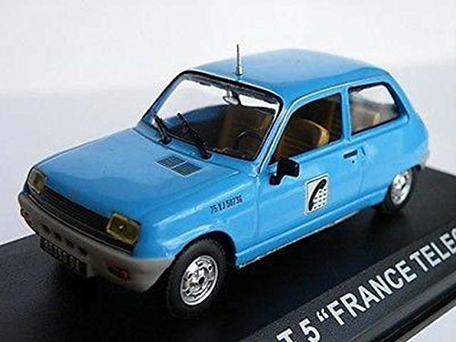 renault-5-car-france-telecom-1-43rd-scale-model-mint-3-door-hatchback-k8798