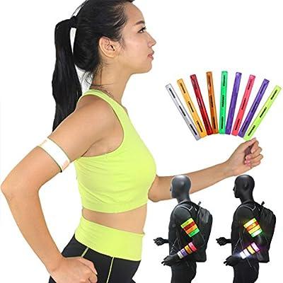 Reflektierende Slap Armband Lasche Armband für Running Radfahren Hund Joggen Walking Sports Gear Hohe Sichtbarkeit Erwachsene Kinder Sicherheit Band