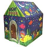 Muren fluorescent LED light tent house for Kids play tent 3+, Multicolour (Design 1)