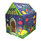 #8: Adi Fluorescent LED light tent house for Kids play tent 3+