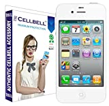 Best 4s Screen Protectors - Cellbell Premium front and back Tempered Glass Screen Review
