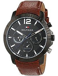 Tommy Hilfiger Herren-Armbanduhr Sophisticated Sport Analog Quarz Leder 1791269