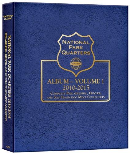 National Park Quarter P&d&s Mint Album Vol I