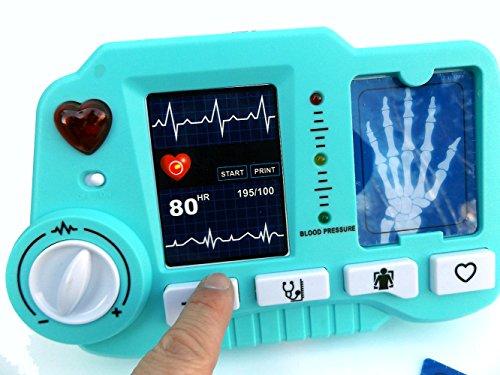 ⛑ Spielzeug EKG – und Röntgen Gerät mit realistischer Funktion- darf in keinem Spielzeug Arztkoffer fehlen ⛑ - 5