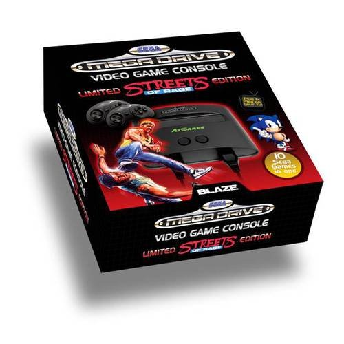 SEGA Mega Drive: Streets of Rage - Special Edition inkl. 10 Spiele...