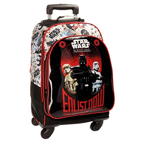 Star Wars Rogue One Trolley Convertible en Mochila, con ruedas, Multicolor