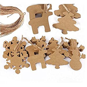 Tinksky 100 piezas Navidad copo