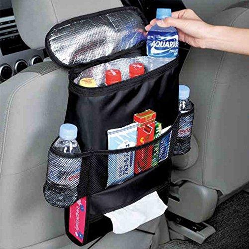 Auto R/ücklehnentasche Organizer Multi-Tasche Flasche K/ühltasche Auto Zubeh/ör Utensilientasche