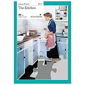 La Cucina Puzzle da 13 Pezzi: Attività per Anziani Specifiche per le Persone Affette da Demenza/Alzheimer di Active Minds