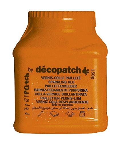 Décopatch PP600AO - Un pot de Vernis colle Décopatch 600g