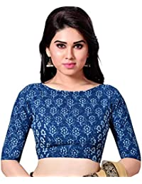 3dd45e167 Amazon.in  Blues - Blouses   Ethnic Wear  Clothing   Accessories
