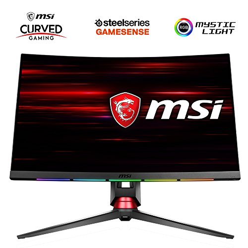 "MSI OPTIX MPG27CQ Ecran PC LCD VA 27"" 2560 x 1440 Pixels 1 ms Noir"