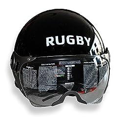 Asco 95028 HELMET WITH TRENDY WISER Rugby Logo