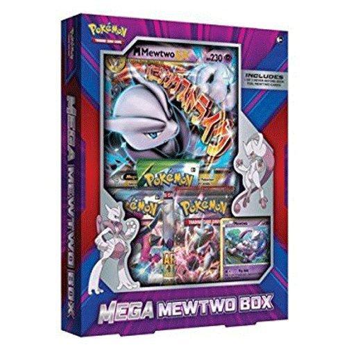 Pokemon TCG Mega Mewtwo Box (Mega-pokemon Mewtu-karte)