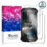 Ycloud [3 Pack] Panzerglas Bildschirmschutzfolie für Doogee S60 / Doogee S60 Lite, Hartglas Staubdichter, 9H kratzfester Bildschirmschutz Protector für Doogee S60
