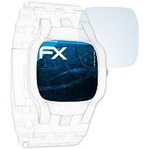 Sanitas SPM 25 Schutzfolie - 3 x atFoliX FX-Clear kristallklare Displayschutzfolie