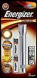 Energizer Taschenlampe Metal LED 2AA (50 Lumen, 36m Reichweite)