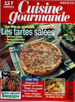 CUISINE GOURMANDE [No 14] du 01/03/1995
