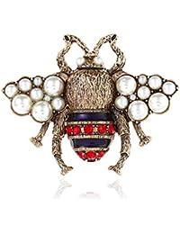 metall hemd kragen dekor schmuck hummel broschen biene insekt pin das tier