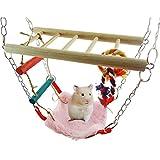 asocea Pet Hängematte aufhängen Klettern Spielzeug mit Hängebrücke für...