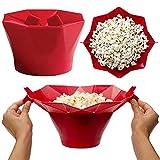 VALUEU Mikrowelle Silikon Faltbare Popcorn Maker Container Halter Werkzeuge DIY Eimer