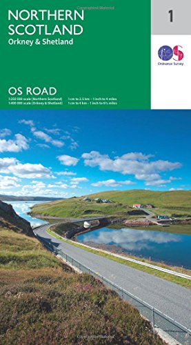 os-road-map-1-north-scotland-orkney-shetland
