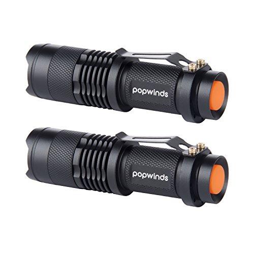 popwinds-2-pcs-mini-torche-lampe-de-poche-led-300lm-zoomable-et-rechargeable-de-reglable-portable-et