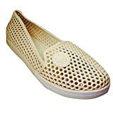 #5: IndusBay Women's Casual Flat Belly Shoes Clogs Comfortable Ladies Pump Shoes with Cute Smiley Logo