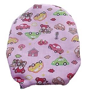 Leerbarer Stoma Cover Ostomy Bag Cover Druckstoff Cars Pink