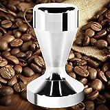 Kaffee Tamper Machine, Dland 51mm Durchmesser Edelstahl Flat Base Grip Griff Bean Barista Espresso Tamper Druck Küchen Zubehör