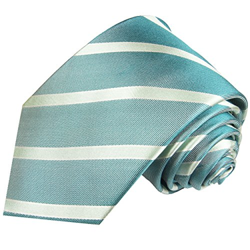 Cravate homme bleu rayée 100% cravate en soie ( longueur 165cm )