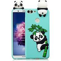 Everainy Huawei P Smart/Enjoy 7S Silikon Hülle Ultra Slim 3D Panda Muster Ultradünn Hüllen Handyhülle Gummi Case... preisvergleich bei billige-tabletten.eu