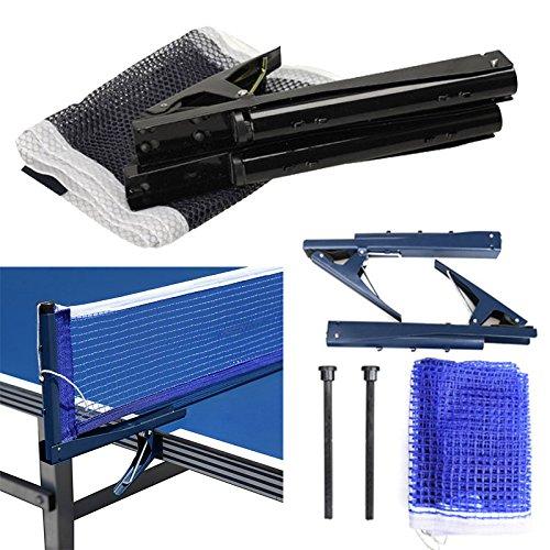 lzndeal Training Competition Ersatz Tischtennis Ping Pong Net mit Post Einstellung