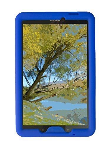 Bobj Silikon-Hulle Heavy Duty Tasche für Samsung Galaxy Tab E 9.6 (SM-T560, SM-T560NU), Tab E Nook 9.6 - BobjGear Schutzhulle - Nook Nook Oder Tablet Farbe Tasche