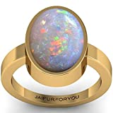 jaipurforyou Certified Opal (Ethopian ) 3.00cts or 3.25 ratti panchdhatu ring