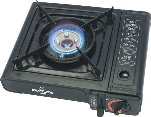 cuisiniere-a-gaz-portable-milestone-camping-noire
