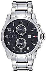 Tommy Hilfiger Chronograph Black Dial Mens Watch - NTH1710296J