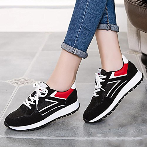 SONGYUNYANLoisirs de plein air/Korean fashion plats chaussures de course femme Black